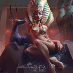 Cleopatra VII - Mitos y Leyendas TCG by SolDevia