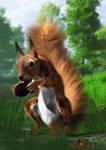 Perri, the Squirrel by sheeban