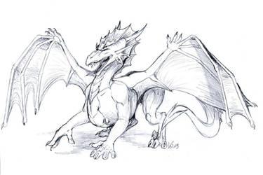 SketchieComm - Dragoniade by suzidragonlady