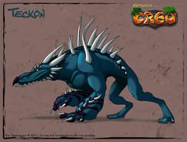 Teckon - Comic Version by suzidragonlady