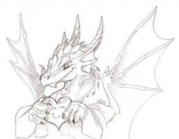 Valentines Dragon by suzidragonlady