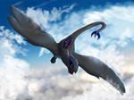 Dashing Through The Clouds... by suzidragonlady