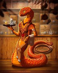 Naturama - Sunbrew Nagatail Tea Bar by suzidragonlady