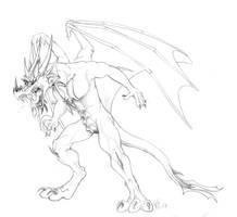 Furious Dragon Guy by suzidragonlady