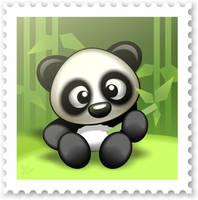 Cute Panda by DayDreamOz