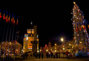 Cluj by night by inf23