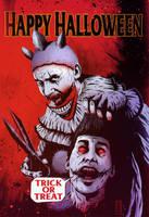 American horror story  Freak show Twisty by maanhouse