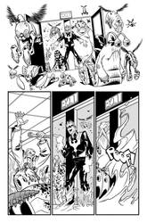 Wolverine and the X Men 42, page 23 by Inkpulp
