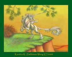 Pine Unicorn Color Version by BlackUniGryphon