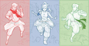 Team RGB Sketch by missypena