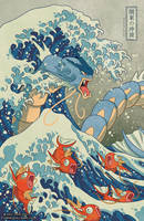The Great Wave Off Kanto by missypena