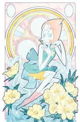 Precious Crystal Gems - Pearl by missypena