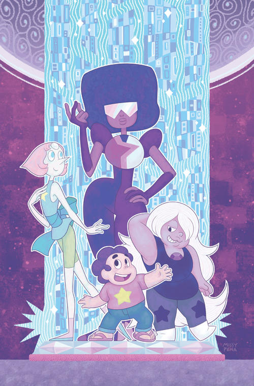 Steven Universe Issue 1 (Gem Foil) Cover by missypena