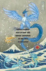 The Great Wave off Kanto (redone) II by missypena