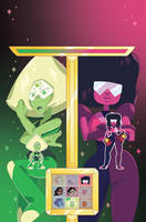 Steven Universe Issue 17 (A) Cover by missypena