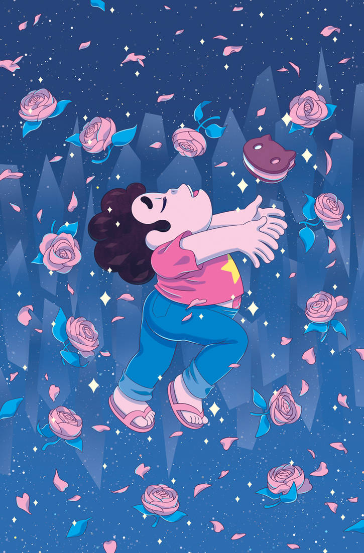 Cover for Steven Universe #22!  Illustration © Cartoon Network and BOOM! Studios