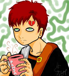 Without coffee, I'm a Demon by Lizmun
