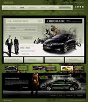 website layout 45 by webgraphix