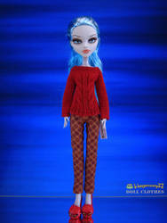 Monster High doll in Hegemony77 doll clothes by Hegemony77