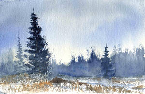 Daily Watercolor Jan22nd by Shadow-stepper