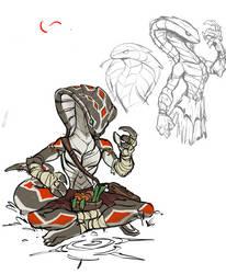 snake people! by manabreakfast