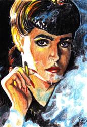 The smoking lady by bulma24