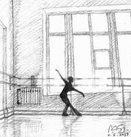 Practicing Alone (Alexandra Pisareva) by Audrey829SJ