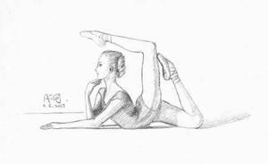 Posture (Valeria Lyakina) by Audrey829SJ
