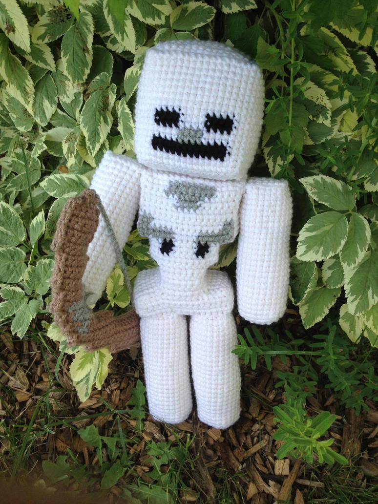 Minecraft Skeleton Crochet By Rdekroon On Deviantart