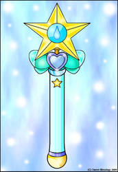 Sailor Aqua's Wand by Sweet-Blessings