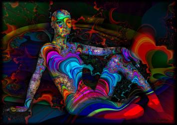 Galaxy woman by ivankorsario