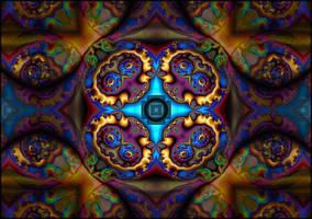 Psychedelic crest by ivankorsario