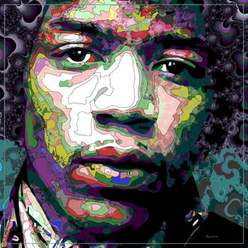 The spirit of Jimi Hendrix by ivankorsario