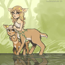 Fawn by s-ox