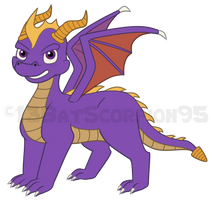 Spyro by 13BatScorpion95
