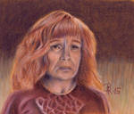 Molly Weasley by LoonaLucy