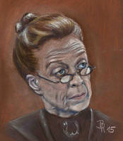 Professor Minerva McGonagall by LoonaLucy