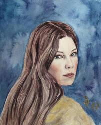 Arwen Undomiel by LoonaLucy