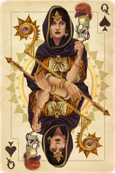 Queen of Spades by AlixBranwyn