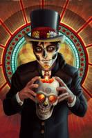 Dia de los Muertos - Male by AlixBranwyn