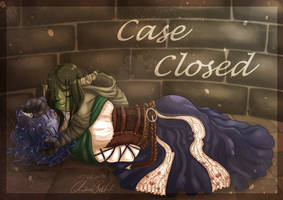 Case Closed -  Critical Role Fanart [Speedpaint] by SafirasArt