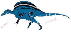 Youtube Spinosaurus by BrooksLeibee