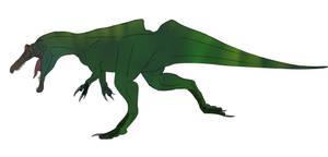 Ichthyovenator iaosensis by BrooksLeibee