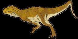 Eoabelisaurus Mefi by BrooksLeibee