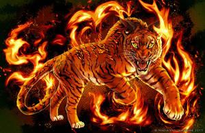 Feral Fire by NadiavanderDonk
