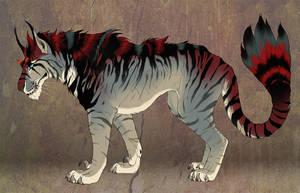 Indominus Cat - Character Sale - SOLD! by NadiavanderDonk