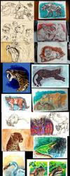 Patreon Work - Daily Drawings by NadiavanderDonk