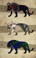 Fantasy Saber Cats 4 - CLOSED by NadiavanderDonk