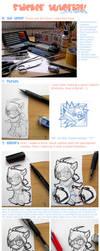 Sticker tutorial by RedAkai