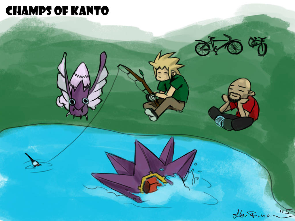 Two kanto Chumps by Abe88